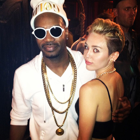 Miley Cyrus Pregnant With Juicy J's Baby!