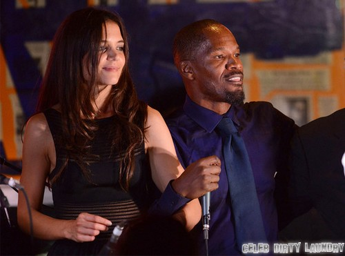 Katie Holmes Dating Jamie Foxx: Hiding From Tom Cruise ...
