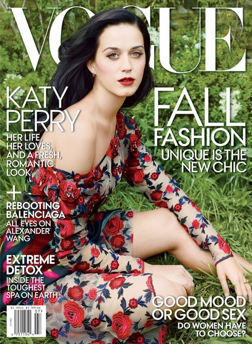 Katy Perry Covers Vogue Magazine (Photo)