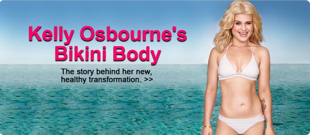 Kelly Osbourne Shape Magazine Cover December 2010