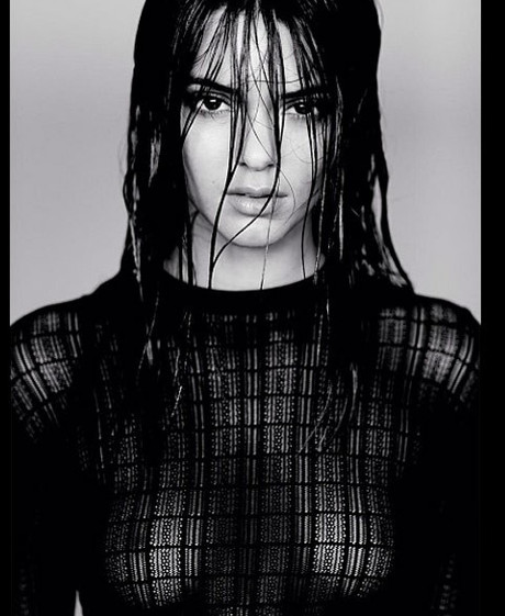 Kendall Jenner's Racy Pics Land Her Modeling Contract