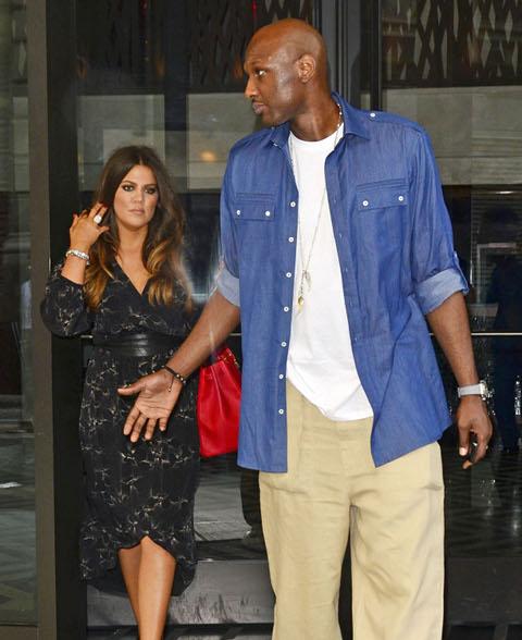 Khloe Kardashian And Lamar Odom Solve Marriage Crisis - Report