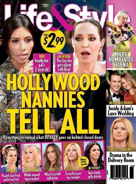 Kim Kardashian Insults Beyonce's Child Blue Ivy - Kim's Nanny Exposes Her Dirty Secrets! (PHOTO)