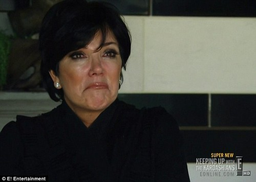Kris Jenner Cries On Camera Over Allegations Of Abuse From Ellen Kardashian