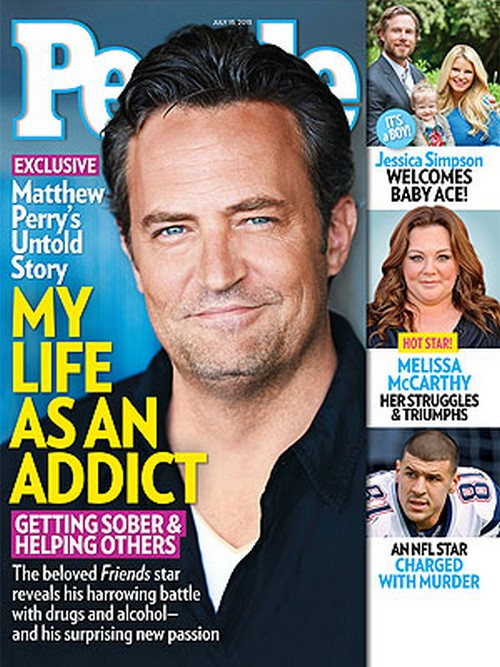 Matthew Perry Opens Up About His Alcohol And Drug Addiction During 'Friends'