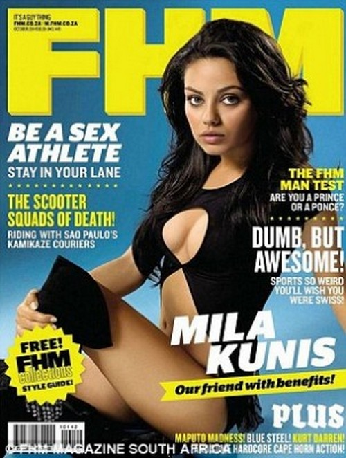 Mila Kunis Named Sexiest Woman in the World by FHM Magazine (PHOTO)