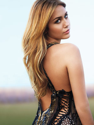 Miley Cyrus Marie Claire March 2011 Photos