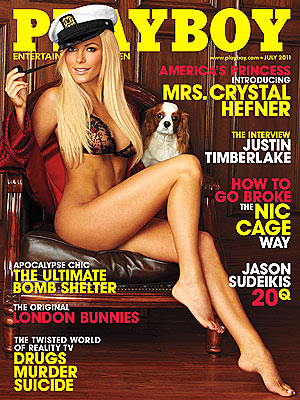 Playboy July 2011 – Crystal Harris – Cover PHOTOS
