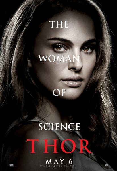 Thor Movie Poster – Dr. Jane Foster