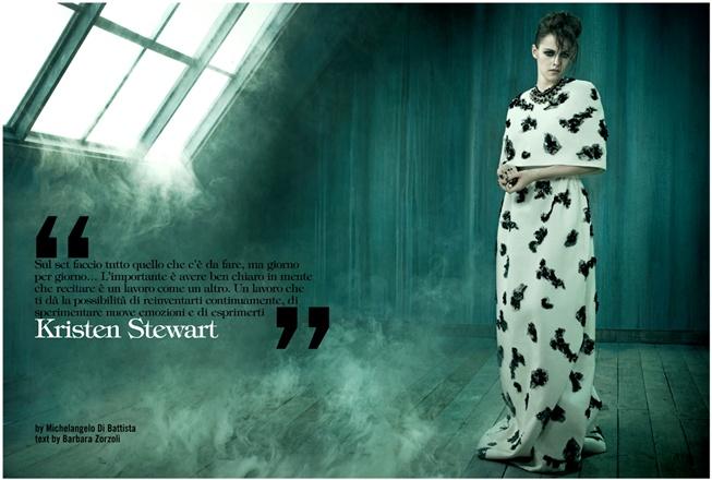Kristen Stewart – Vogue Italia Shoot – Photos – 3