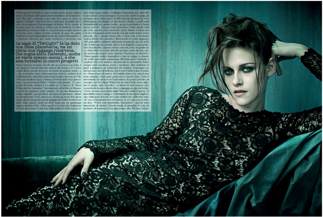 Kristen Stewart – Vogue Italia Shoot – Photos – 7