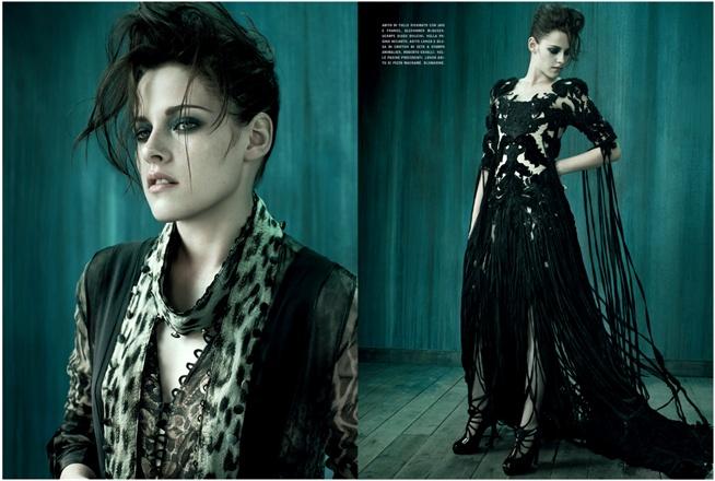 Kristen Stewart – Vogue Italia Shoot – Photos – 6