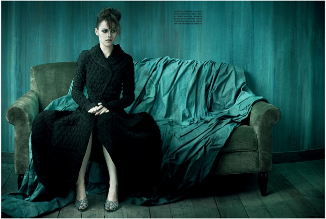Kristen Stewart – Vogue Italia Shoot – Photos – 1