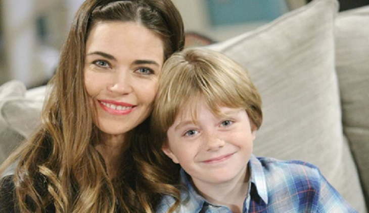 'The Young And The Restless' News: Amelia Heinle Asks For Prayers For Y&R On-Screen Son Max Page, Fighting Dangerous Heart Condition