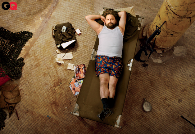 Zach Galifianakis GQ Photos
